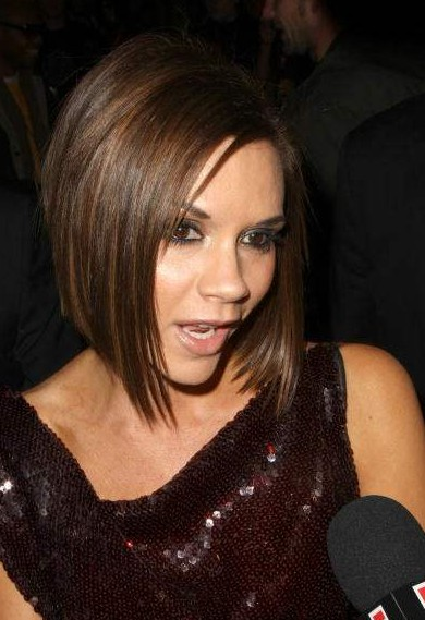 Victoria Beckham Bob Hairstyle - Trendy Short Haircut for Women
