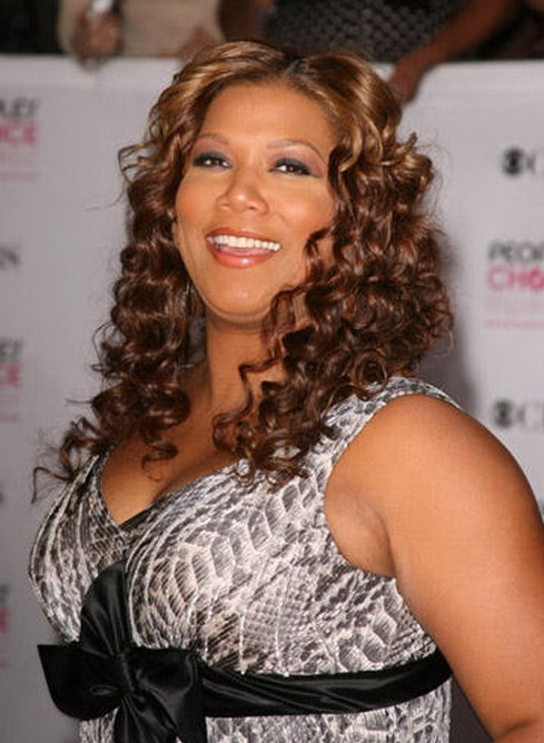 Queen Latifah curly hairstyles for black women