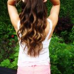 Cute Brown to Blonde Ombre Hair for Thick Hair