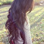 Long Wavy Hair Style - Dark Hairstyle for Women tumblr