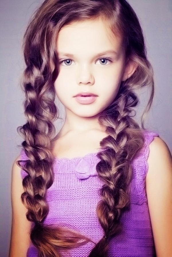 Cute Haircuts For Little Girls Girl Long Hairstyles Hair All