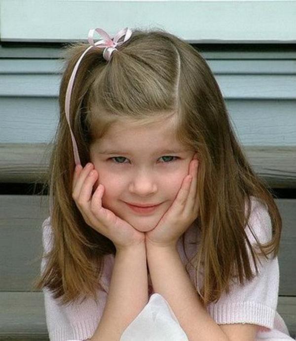 Little Girls Hair Ideas for Medium Long Hair