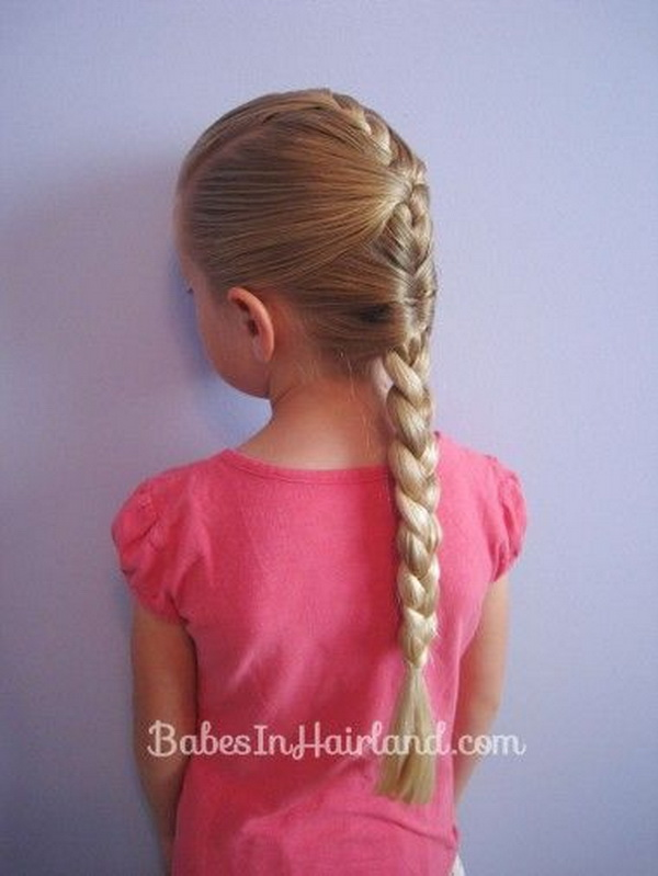 Girls Long Braided Hairstyle
