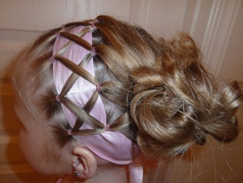 Best Hairstyles for Girls Messy Updo