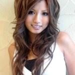 Cute Asian Hairstyles 2014 for long hair