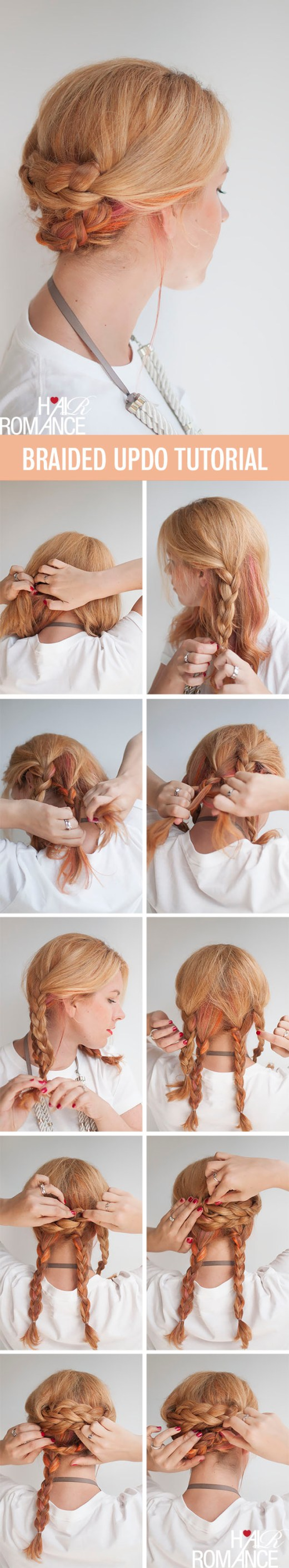 Braid Hair Tutorials: 12 Ways to Braid Your Hair - Hairstyles Weekly