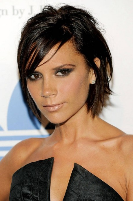 Layered Short Haircut for Heart Face Shapes