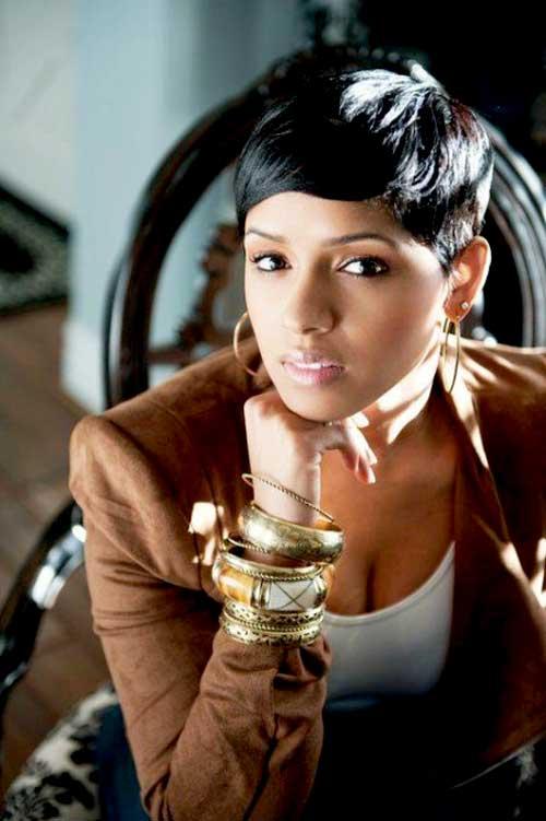 Trendy Short Haircuts for Black Women