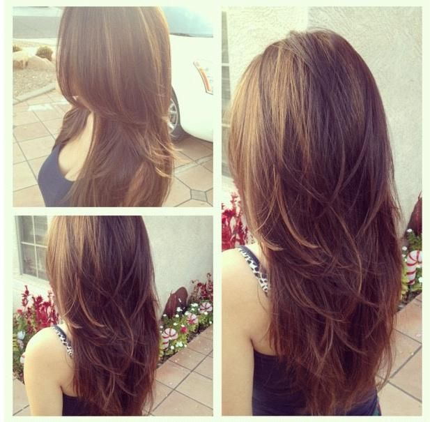 Cute Layered Long Hairstyle for Girls