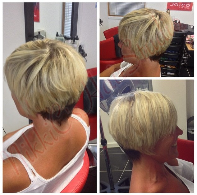 Chic Layered Short Hairstyle for Women