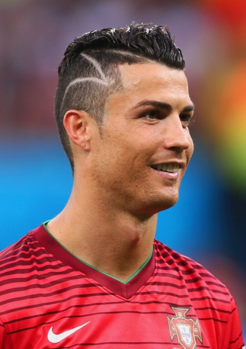 Cristiano Ronaldo Spiked Haircut for Men