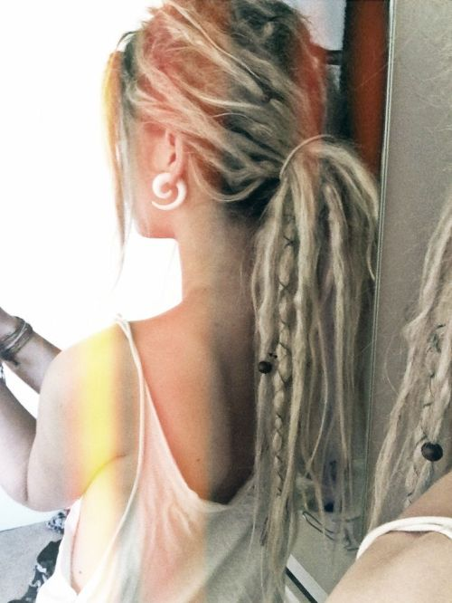 Dreadlocks for Blonde Girls