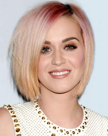 Katy Perry's reverse ombre bob