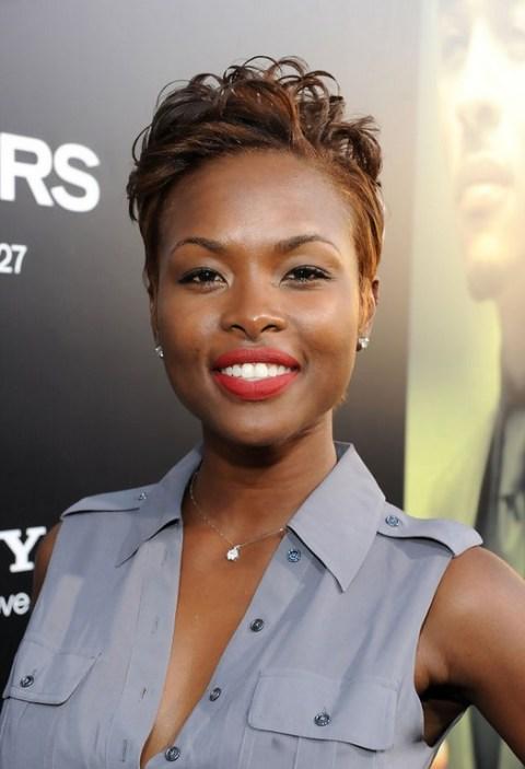 Natasha Ellie Trendy Short Haircut for Black Women