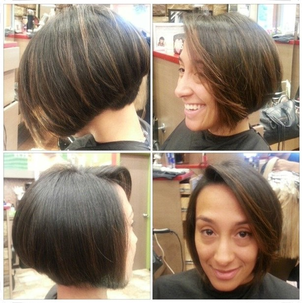 Popular Graduated Bob Haircut for Women