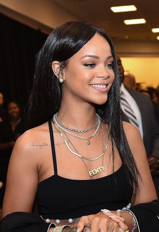 Rihanna Latest Hairstyles 2015 for Black Women
