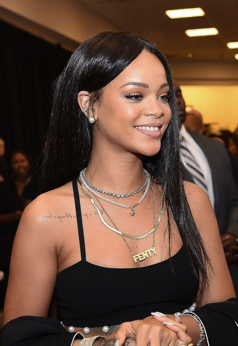 Rihanna Latest Hairstyles for Black Women