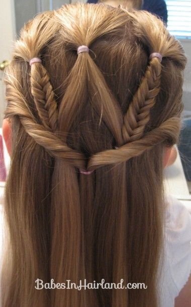 Cute hairstyles for girls 2015