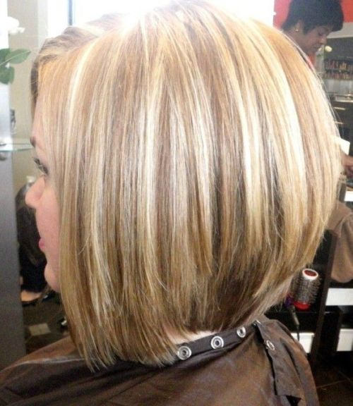 Layered A-line Bob Haircut for Women