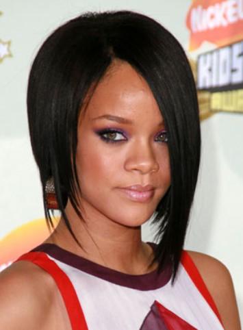 Rihanna bob haircut for black women
