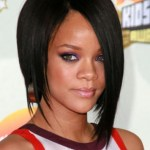 Rihanna bob haircut for black women
