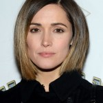 Rose Byrne Graduated Bob Hairstyle 2015