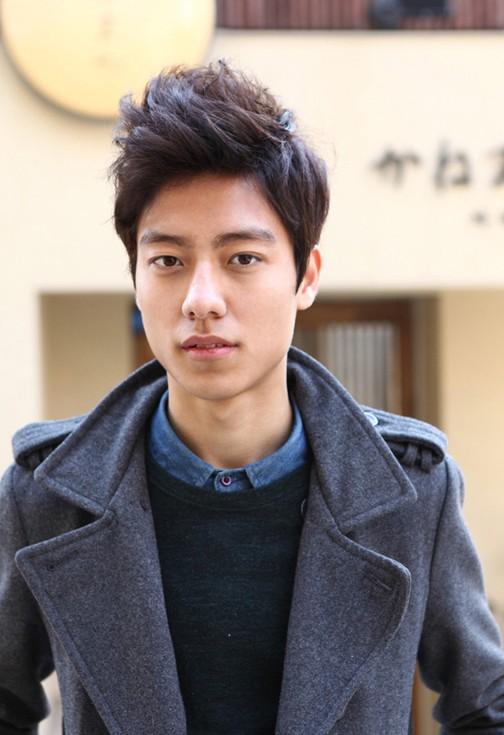 Trendy Asian haircut for men
