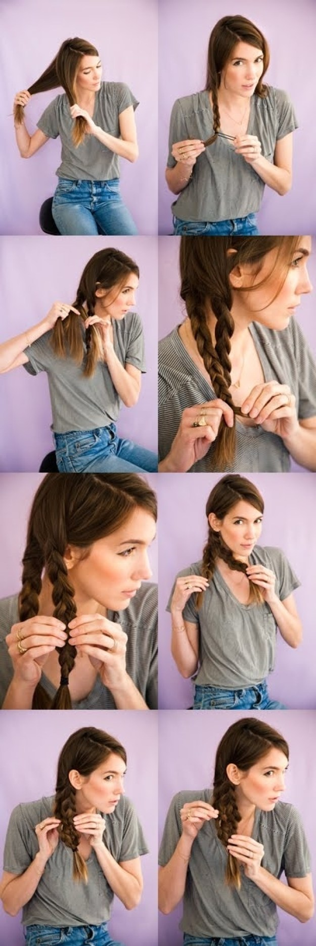 The Mermaid Tail Braid