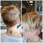 Adorable Short Layered Pixie Haircut