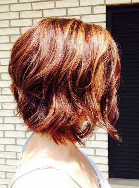 Short Bob Hairstyle with blended Colors