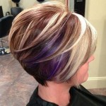 Side View of short bob hair style with layers