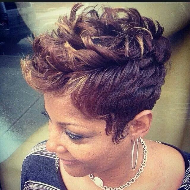 Cool Textured Mohawk Haircut For Women Hairstyles Weekly