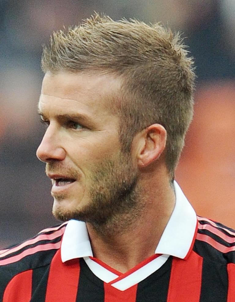 Best Faux Hawk Haircuts For Men for David Beckham