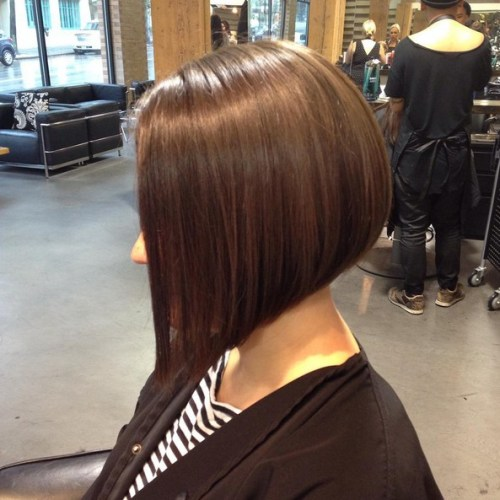Simple easy daily haircut ideas - Inverted bob hairstyle