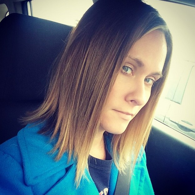 medium straight ombre bob hairstyle - mob hair style