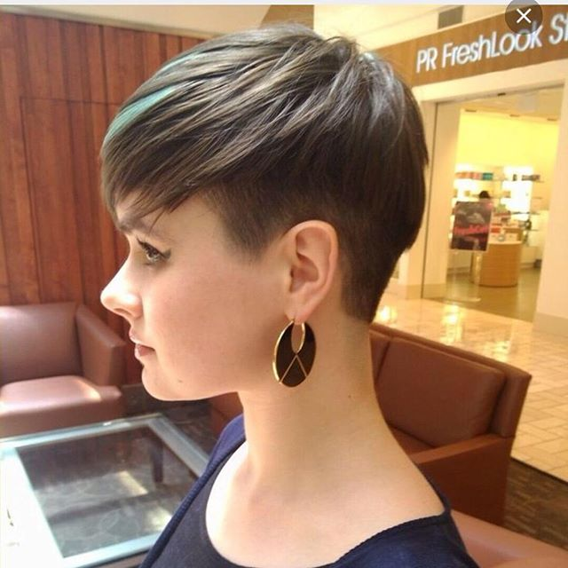 Image result for pixie round face