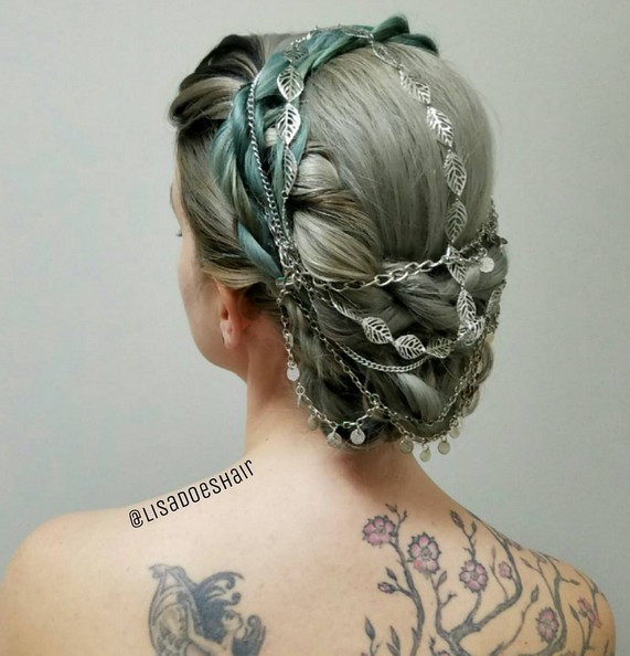 Absolutely stunning Prom Hairstyle - Low Bun Updos