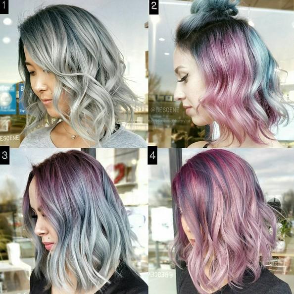 Hair Color Ideas with Bob Hair Cuts