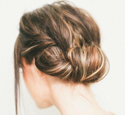 Messy Hair Roll