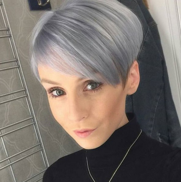 Perfect Haircut and Color - Short Hairstyles for Heart Face Shape 2016