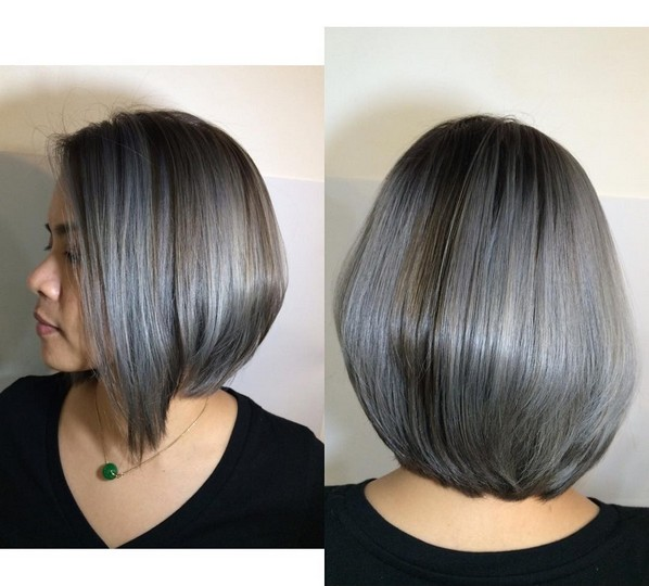Short Bob Hair Color Designes