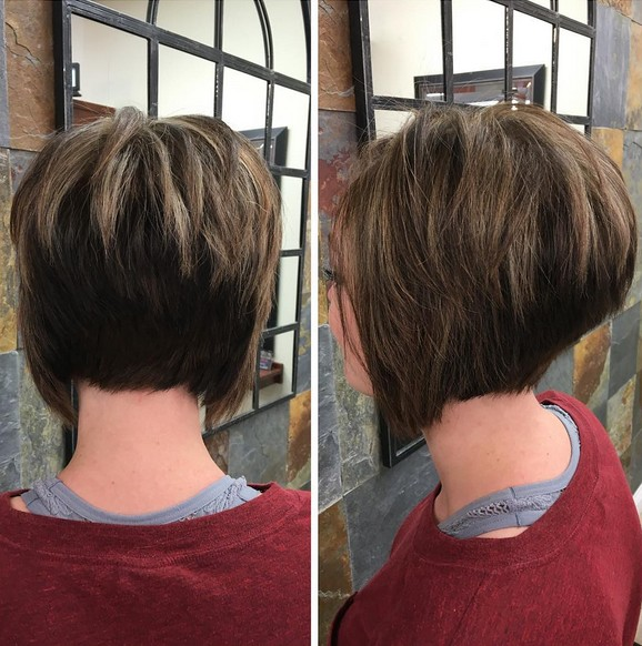 Stacked Haircuts for Short Straight Hair - Easy Hairstyle Ideas for Women