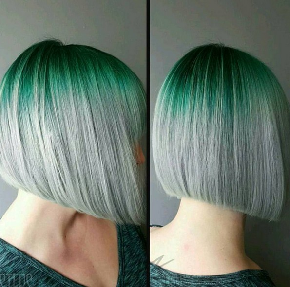 8 Trendy 2 Tone Hairstyles With Bright Colors Hairstyles