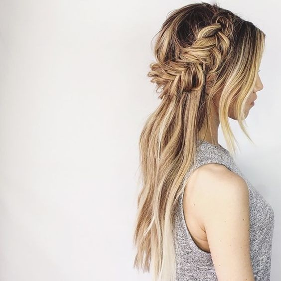 Summer Braid Hairstyle Ideas