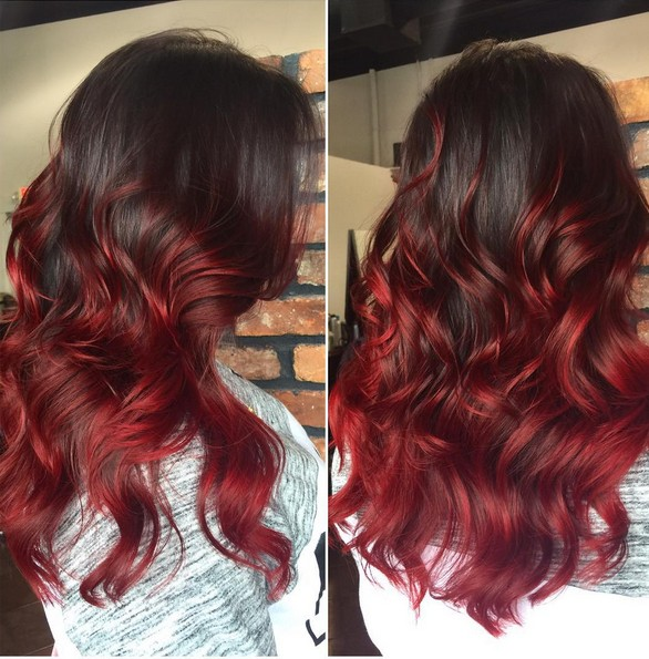20 Best Red Ombre Hair Ideas 2019 Cool Shades Highlights
