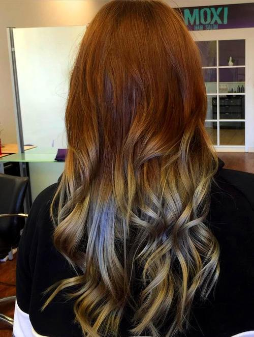Purple and White Highlights