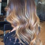 Balayage Highlights for Wavy Hair