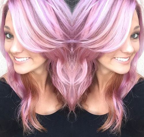 19 Pink Hairstyles to Rock Your Spring