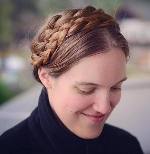 20 Elegant Ways to Have Milkmaid Hairstyles