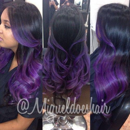 22 Lavender Ombre Hairstyles for This Season